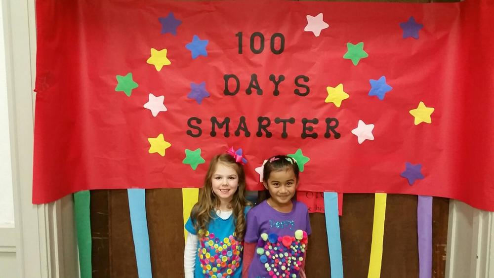 Kindergarten 100th Day Parent Night!