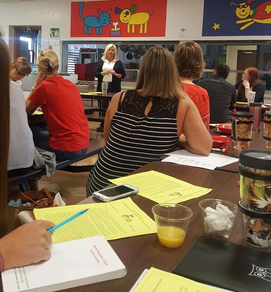 Benton Teachers Get Ready for a New School Year
